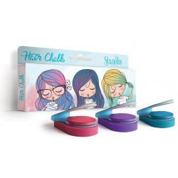 ZMYWALNE KREDY do włosów 3 kolory Hair Chalk