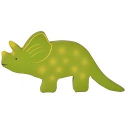 BABY TRICERATOPS gryzak kauczukowy dinozaur