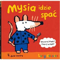MYSIA IDZIE SPAĆ książka Lucy Cousins