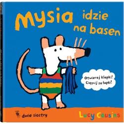 MYSIA IDZIE NA BASEN książka Lucy Cousins