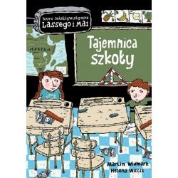 TAJEMNICA SZKOŁY biuro detektywistyczne Lassego i Mai książka Martin Widmark