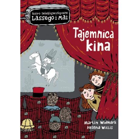 TAJEMNICA KINA biuro detektywistyczne Lassego i Mai książka Martin Widmark