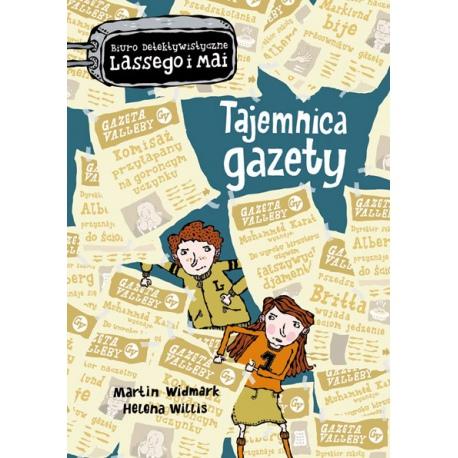 TAJEMNICA GAZETY biuro detektywistyczne Lassego i Mai książka Martin Widmark