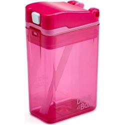 RÓŻOWY BIDON ze słomką pink 235 ml