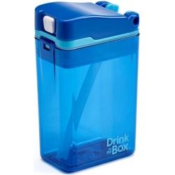 NIEBIESKI BIDON ze słomką blue 235 ml