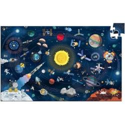 KOSMOS tekturowe puzzle obserwacje 200 el.
