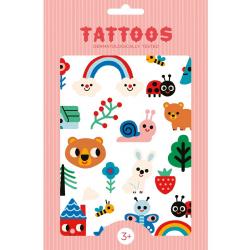 LEOPARD tatuaże świecące w ciemności