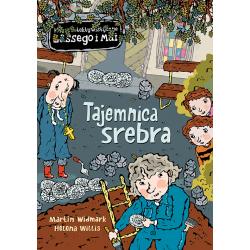 TAJEMNICA SREBRA biuro detektywistyczne Lassego i Mai książka Martin Widmark