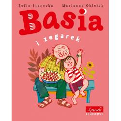 BASIA I ZEGAREK książka w twardej okładce Zofia Stanecka