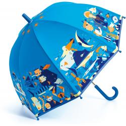 PODWODNY ŚWIAT niebieska parasolka