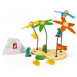 KOLORY zabawka edukacyjna z magnetycznymi zwierzątkami