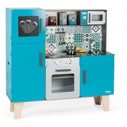 LAGOON drewniana kuchnia XL z dźwiękiem i 15 akcesoriami