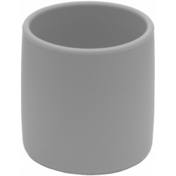DARK GREY silikonowy kubeczek 220 ml