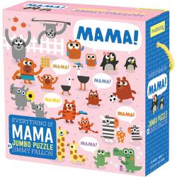 MAMA puzzle podłogowe tekturowe jumbo 25 el.