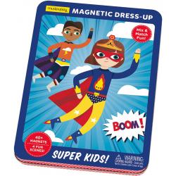 SUPER DZIECIAKI magnetyczne postaci układanka ubieranka