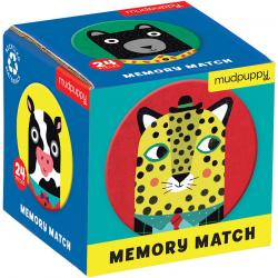 ZWIERZĘCY PRZYJACIELE tekturowa gra mini memory