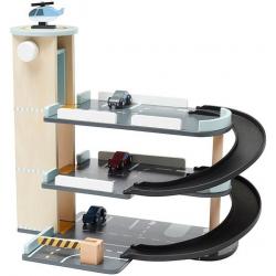 DREWNIANY PARKING 3 poziomowy z pojazdami Aiden