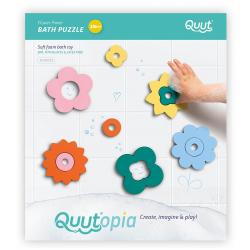KWIATY zestaw piankowych puzzli 3D QUUTOPIA