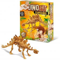 STEGOZAUR szkielet dinozaura mały archeolog