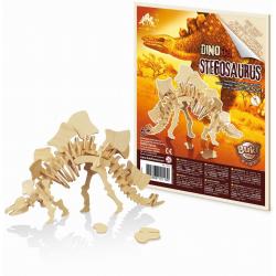 STEGOZAUR drewniany model do złożenia 3D