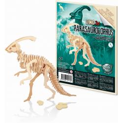 PARASAUROLOPHUS drewniany model do złożenia 3D