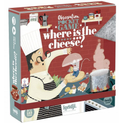 WHERE IS THE CHEESE? gra obserwacyjna