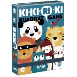 KI-KI-RI-KI gra karciana rodziny zwierząt