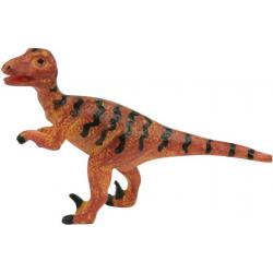 DEINONYCH figurka dinozaura wykopalisko z wulkanu