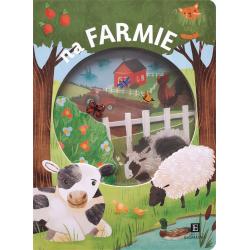 NA FARMIE książeczka Akademia Mądrego Dziecka Faria Kimberly, Newton Robyn, Oliver Amy