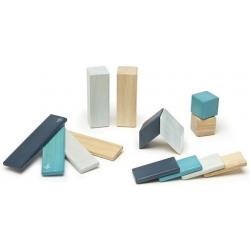 BLUES drewniane klocki magnetyczne 14 szt. CLASSICS