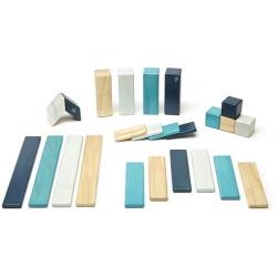 BLUES drewniane klocki magnetyczne 24 szt. CLASSICS