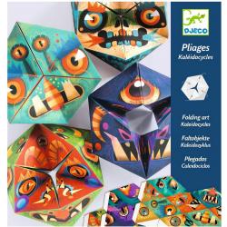 FLEXIMONSTERS papierowa składanka kalejdoskop