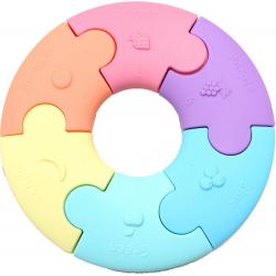 PATELOWE KÓŁKO pierwsze puzzle sensoryczne 6 el.