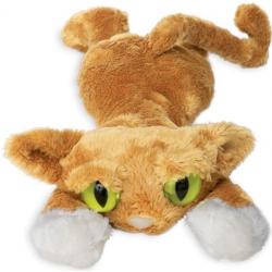LANKY CATS brązowy kot przytulanka