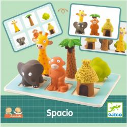 SPACIO gra logiczna układanka EDULUDO