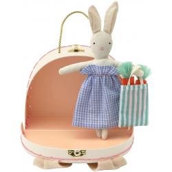 KRÓLICZEK w mini walizeczce