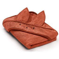 BRICK bambusowy ręcznik z kapturem 85x85 cm