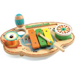 MUZYCZNY KARNAWAŁ drewniany instrument wielofunkcyjny