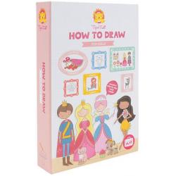 BAŚNIOWY ŚWIAT zestaw do nauki rysowania