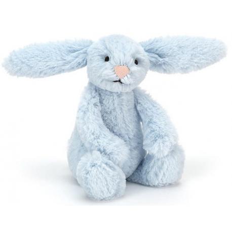 KRÓLICZEK niebieska przytulanka Blashful Bunny 13 cm