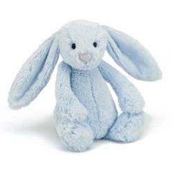 KRÓLICZEK niebieska przytulanka Blashful Bunny 31cm