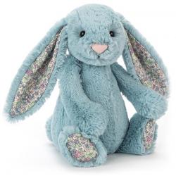 KRÓLICZEK niebieska przytulanka Blossom Bunny 18 cm