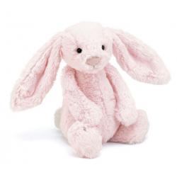 KRÓLICZEK różowa przytulanka Bashful Bunny 31cm