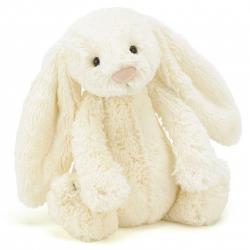 KRÓLICZEK kremowa przytulanka Bashful Bunny 31cm