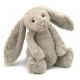 KRÓLICZEK beżowa przytulanka Bashful Bunny 31cm