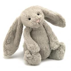 KRÓLICZEK beżowa przytulanka Bashful Bunny 31 cm