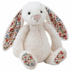 KRÓLICZEK kremowa przytulanka Blossom Bunny 31cm