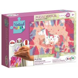 JEDNOROŻEC puzzle wertykalne 48 el.