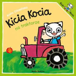 KICIA KOCIA NA TRAKTORZE książeczka dla najmłodszych