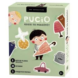 PUCIO GDZIE TO POŁOŻYĆ? gra edukacyjna Marta Galewska-Kustra